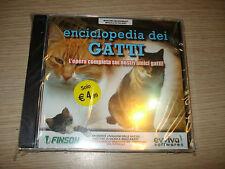 PC CD-ROM ENCICLOPEDIA DEI GATTI L'OPERA COMPLETA SUI NOSTRI AMICI RAZZE NUOVO