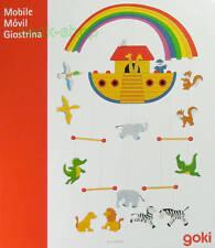 Kinderzimmer - Mobile Tiere Arche Schiff Regenbogen NEU Windspiel - Deko-Hänger