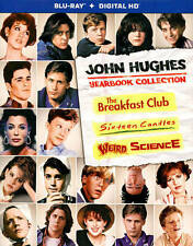 John Hughes Yearbook Collection (Blu-ray Disc, 2015, 3-Disc Set) w/Slipcover