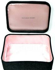 Victorias Secret Box Jewelry Case Cosmetic Makeup Accessories Box Pink Black