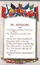 Dandanelles,Gallipoli,Turkey,The Australians,Anzacs,WW I,Poster Art,Flags1914-15