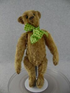 "13"" antique beige mohair jointed Teddy Bear Steiff ""style"" 1915"