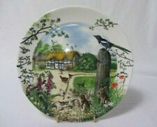 Wedgwood Colin Newman'S Bone China Country The Farm Cottage 1988 Plate Mib