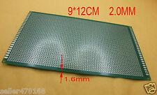 1PCS Single Side 90x150x1.6mm PCB Printed Circuit Board 2mm jack Pitch Soldering