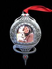 Memorial Photo Ornament Christmas In Heaven Sympathy Gift Keepsake Miss You Pet