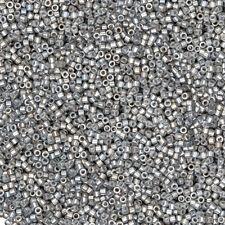 Miyuki Delica Perline Taglia 11/0 Grigio zincato Luster DB251 7.2 G (P87/10)
