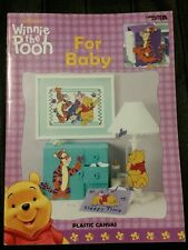 Winnie the Pooh For Baby, Leisure Arts Home Decor Plastic Canvas Patterns