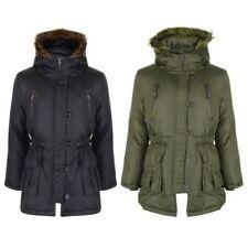 Manteaux, vestes et tenues de neige avec capuche en fourrure pour fille de 2 à 16 ans