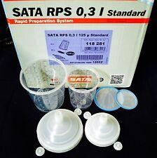 Sata Jet HVLP RP Spray Paint Gun RPS Cups 0,6 liter - 0,3liter waterborne