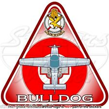 Scottish Aviation BULLDOG (Beagle) MALTA Maltese Air Wing Aeronautica Adesivo