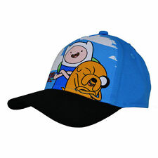 Adventure Time Cap Blue Junior Gift Hat Baseball Fun Official Licensed Finn Jake