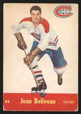 1955-56 PARKHURST ~ #44 ~ JEAN BELIVEAU ~ MONTREAL CANADIENS