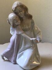 Vintage 1990 Paul Sebastian Mother & Daughter Porcelain Figurine 7,5�