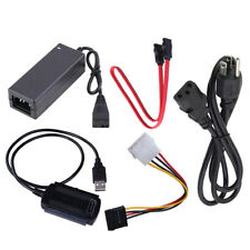1 Set USB 2.0 to IDE/SATA Adapter Converter Cable for Hard Drive Disk UNIVERSAL
