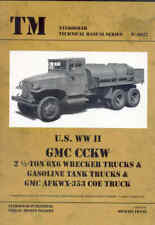US WW 2 GMC Wrecker Trucks Gasoline Tank Trucks & AFKWX-35 Technical book  Army