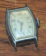 *FOR PARTS / REPAIR* Vintage Dayton Analog Wind Up Watch Face *U.S.A* *READ*