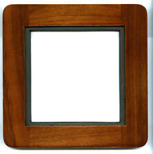 "1  ADAPTER 8""x 8""RC TO DEARDORFF 11x14 to 5.5x5.5"" SINAR Boards, Walnut,no metal"