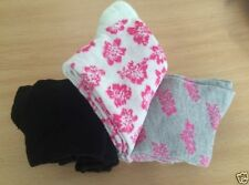 Yes Unbranded Machine Washable Floral Socks for Women