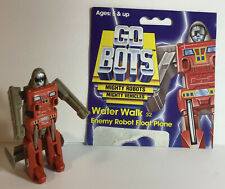 Vintage GOBOTS Water Walk 32 Enemy Robot Float Plane with Partial Card (7203)