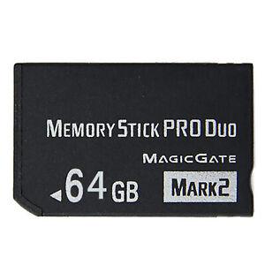 8/16/32/64GB Memory Stick Pro Duo Card For Sony PSP2000 3000/SLR Digital Camera