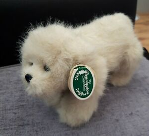 Cute Bearington Snow Shoe Dog Soft Toy With Tag