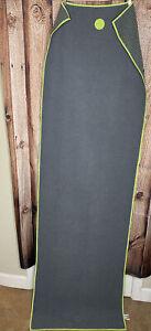 Manduka Yogitoes Yoga Mat Skidless Towel 68 In x 24 In Preowned