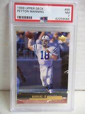 1999 Upper Deck Peyton Manning NM 7 Football Card #88 NFL