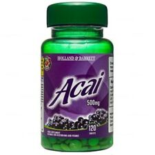 Holland & Barrett, Acai Berries 500mg, 120 tablets support weight loss