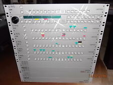LEITCH-XPLUS-X-16X1P-ABA1-ROUTING-SWITCHER-VIDEO BROADCAST