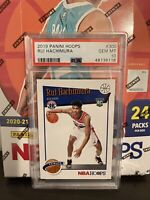 2019 Panini NBA Hoops Tribute Rui Hachimura #300 RC PSA 10