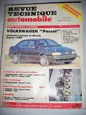 VOLKSWAGEN Passat (88-91) Golf Jetta BMW Série 3 - Revue Technique Automobile