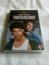 Youngblood dvd new sealed rob Lowe Patrick swayze Reg 2 ice hockey young blood