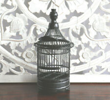 Birdcage, handmade, black, weddings, events, candle holder, decoration, decor