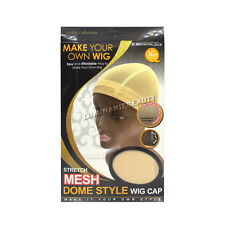 Qfitt Make Your Own Wig Stretch Mesh Dome Style Caps U Part Band #5031 Natural