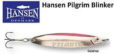 Hansen Pilgrim Blinker 18g Gold-red