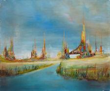MARTIN-ROLLAND (1926-2015) HsT Années 60 Jeune Peinture Abstrait Abstract