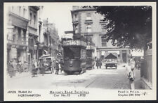 Northamptonshire Postcard - Mercers Road Terminus, Trams in Northampton CC728