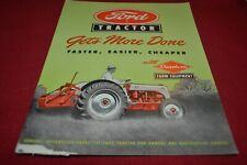 Ford Tractor Guyers Guide For 1951 Dealers Brochure AMIL15