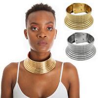 Afrikanischen Damen Halskette Kragen Aussage Choker Frauen Retro Kragen Schmuck