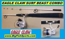EAGLE CLAW Saltwater 7' SURF BEAST Combo BRAND NEW! FREE USA SHIPPING!