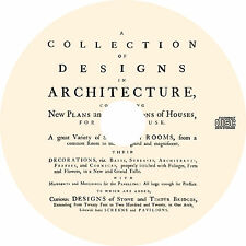 A Collection of 125 Designs in Architecture (18th Century House Plans) on CD