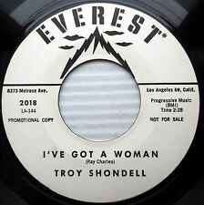 TROY SHONDELL I've got a woman No fool like an old fool TEEN promo 45 cc1322