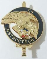 Brevet Commando pour INSTRUCTEUR C4 C-4 EXPLOSIF CNEC C.N.E.C