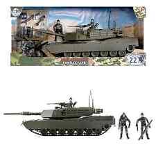 Mondo peacekeeper Militare Combat TANK Esercito GIOCATTOLO CON FIGURE 3 + anni