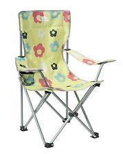 Trespass Joejoe Kids Camping Chair - Lemongrass Print, One Size