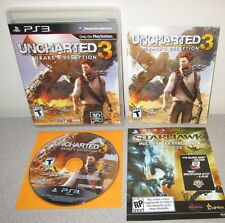 UNCHARTED 3 Drake's Deception PlayStation 3 w/Manual Naughty Dog Adventure PS3