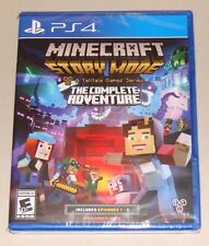 Minecraft Story Mode: The Complete Adventure (Episodes 1-8) for PS4 NEW & SEALED