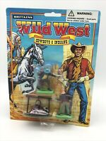 Britains Wild West Cowboys And Indians Carded 7529 Camp Fire With 2 Figures