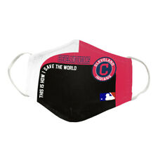 Cleveland Indians-  Cotton Face Mask....