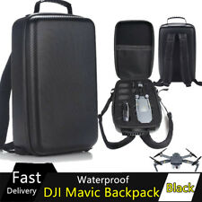 Waterproof Carbon Hardshell Backpack Suitcase Quadcopter Case Bag DJI Mavic Pro